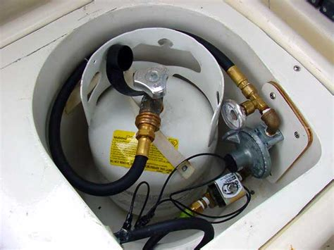 boat grill propane tank propane safety for boats boat trader waterblogged