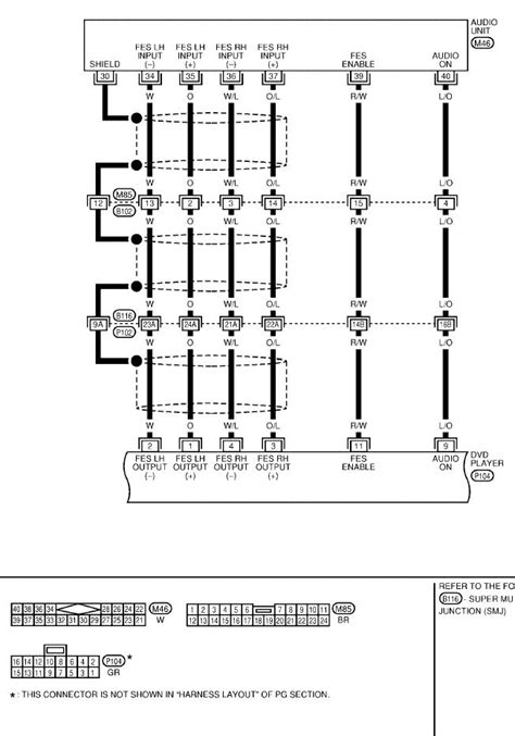 radio wiring diagram for 04 nissan quest 28 images