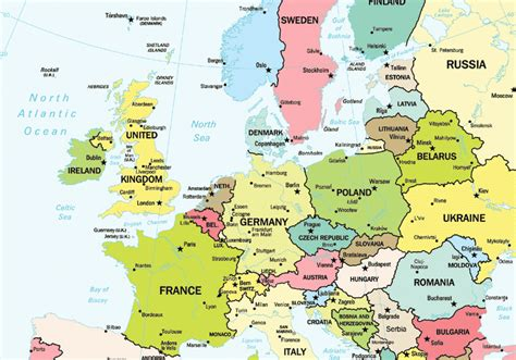 europe map today germany tours vacations