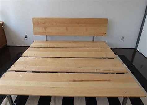 diy mid century modern platform bed