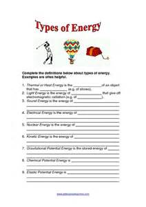 forms of energy worksheet rupsucks printables worksheets