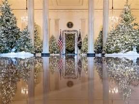 white decorations white house reveals 2017 decorations abc news