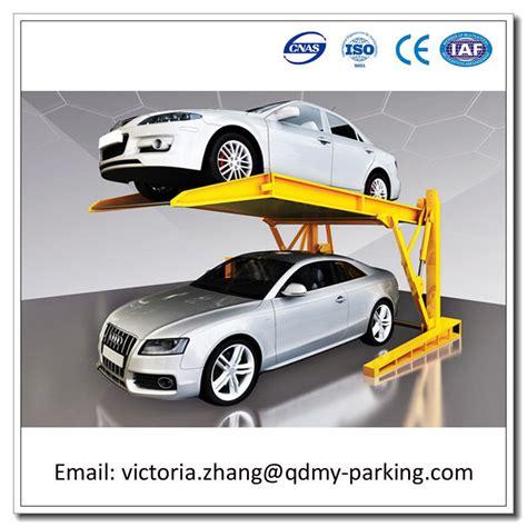 Two Car Garage Designs double parking system auto parking lift multipark car park