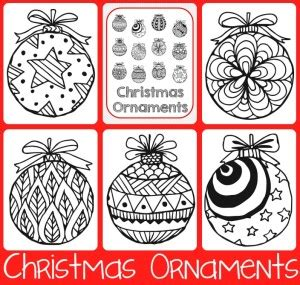 google printable christmas adult ornaments free coloring pages for adults 1 1 1 1