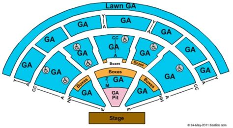 tweeter center seating chart xfinity center tickets seating charts and schedule in