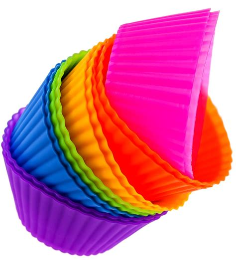 Divider Cup Silicone Cup 1 silicone baking cups 12 cupcake muffin liners bento lunchbox divider acc ebay