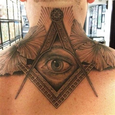 tattoo eye mason all seeing eye tattoo creative stuff pinterest