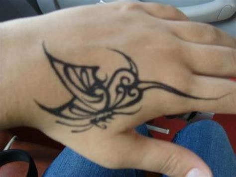 hand tattoos for girls design wd