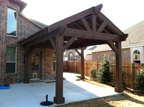 wood patio cover with patio covers patio rustic and person