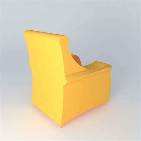 yellow couch studio yellow sofa free 3d model max obj 3ds fbx stl dae