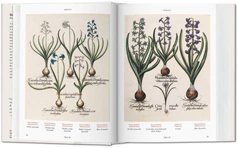 libro basilius beslers florilegium the basilius besler s florilegium the book of plants gallery taschen books bibliotheca universalis