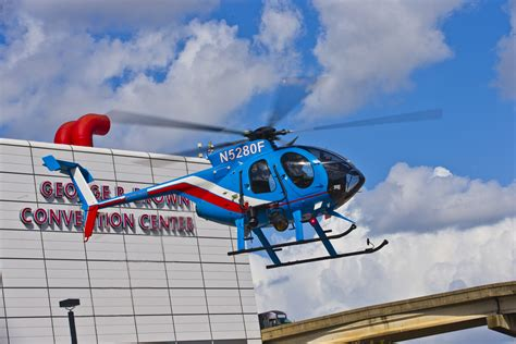 md helicopters to showcase houston department md