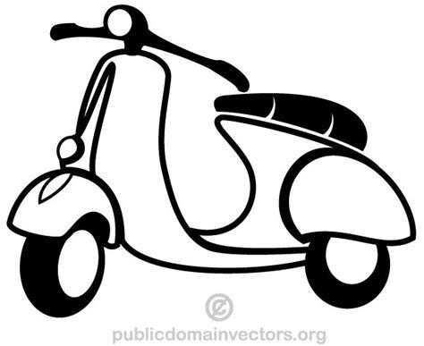 free vector graphics clipart vector scooter clip free vectors