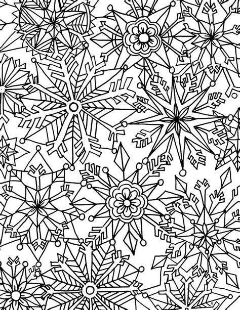 winter coloring pages adults free winter coloring page from alisa burke