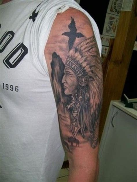 native american sleeve tattoos 75 amazing american tattoos for a tribal look