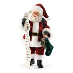santa checks his list possible dreams figurine 4026723