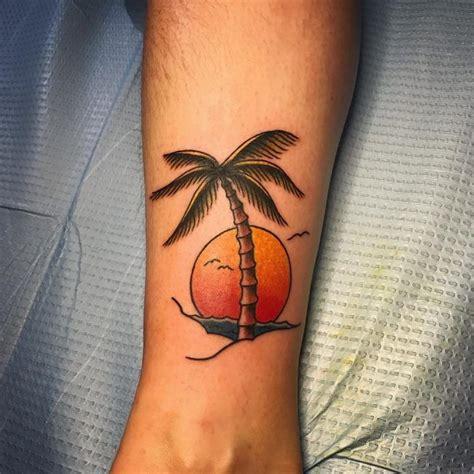 simple palm tree tattoo palm tree ideas palm