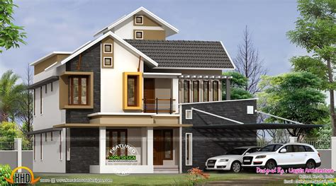 modern style home plans march 2015 kerala home design and floor plans