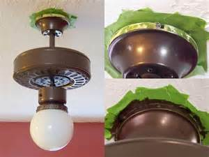 Removing Ceiling Fan 25 Best Ideas About Painting Light Fixtures On