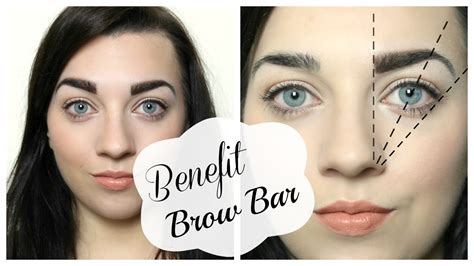 benefit brow bar everything you need to know youtube