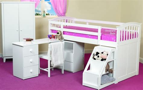 childrens desk and storage beds with desk and storage