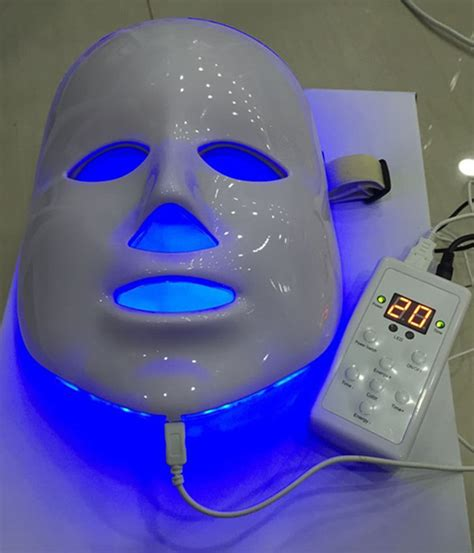 blue light treatment for face aliexpress com buy 7 colors photon pdt led skin care