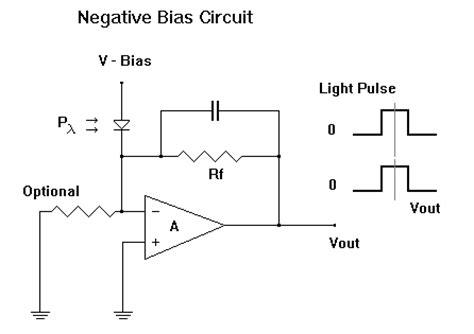 pin diode biasing circuit photodiode technology