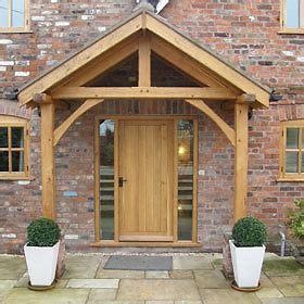 Front Door Canopy Uk by Bespoke Green Oak Porch Front Door Canopy Handmade In