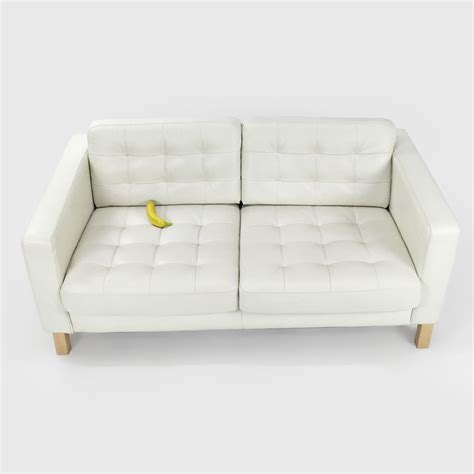 white leather couch ikea ikea white leather sofa white leather sofa objects of
