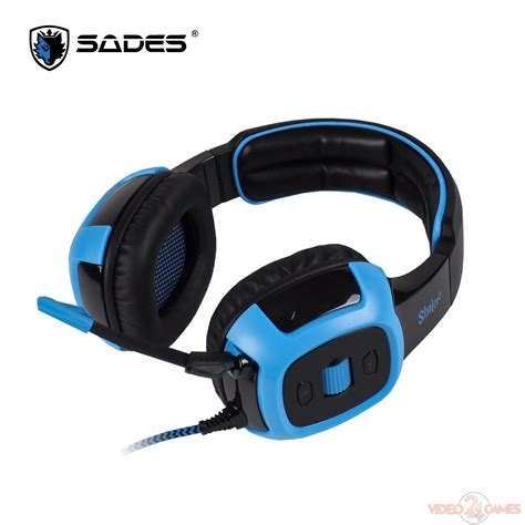 Headset Sades Shaker tech review sades shaker headset gaming 7 1 usb videogames24