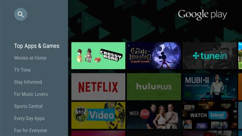 how to play from android to tv play update for android tv makes apps easier to find