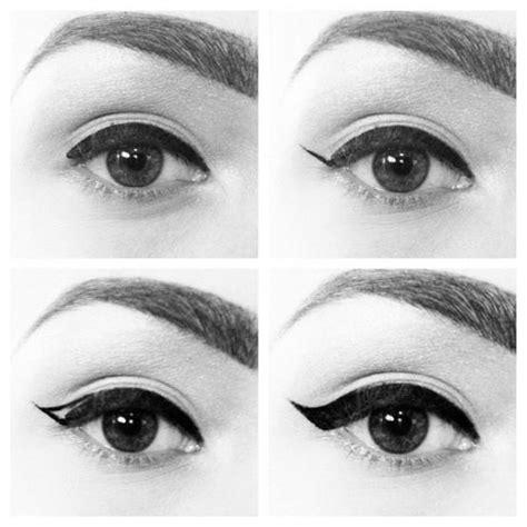 Tutorial Eyeliner Feline | cat eye eyeliner tutorial glam radar