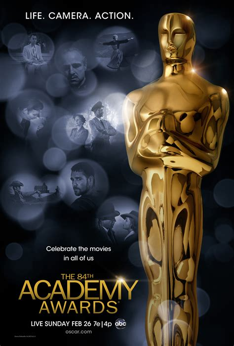 disney film won most oscars 84th academy awards poster revealed we are movie geeks