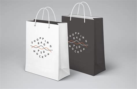 bag design mockup shopping bags mockups mockupworld
