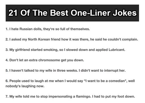 printable one liner jokes one liners 28 images pin one liners jokes 1 on image