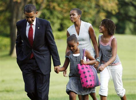 michelle obama children presidents and their children pictures barack obama