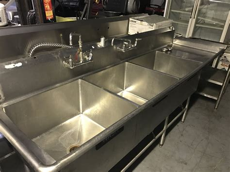 used 3 compartment sink know about 3 compartment sink the decoras jchansdesigns