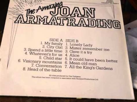 joan armatrading it could been better lyrics the amazing joan armatrading album