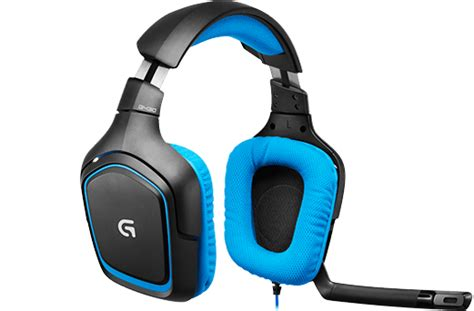 brand new logitech g430 dolby 7 1 surround sound gaming