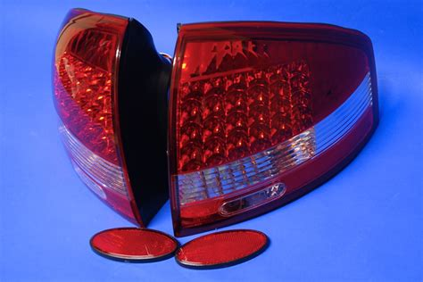 audi a6 c5 98 03 led tail lights light rs6 s6 sedan