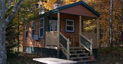 Traverse City Cing Cabins by Deluxe Studio Lodge At Traverse City Koa Deluxe Cabins