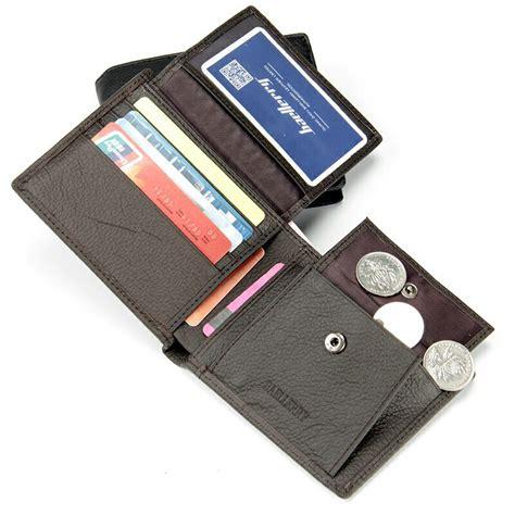 Dompet Pria Bahan Kulit baellerry dompet pria bahan kulit black