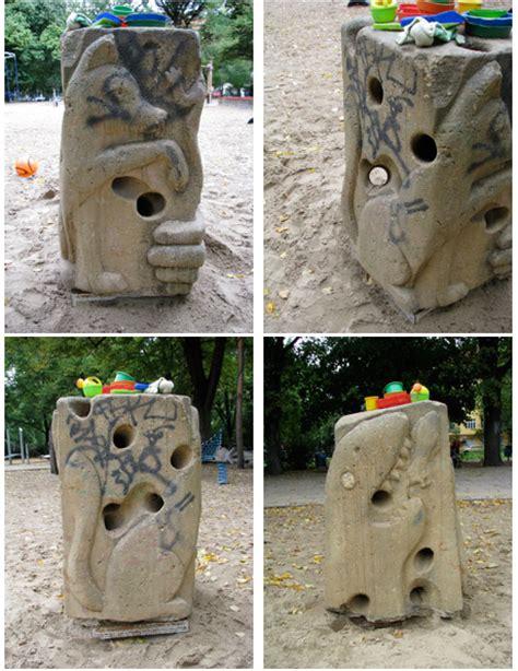 kräuterspirale sandstein ausbilderblog 187 archiv 187 skulpturentour 03