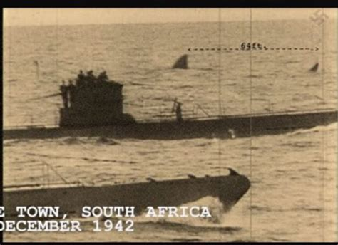 german u boats south africa ww2 u boat off capetown watching giant great white