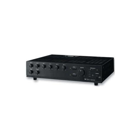 Mixer Audio Toa toa electronics a 1803 mixer lifier 6 input 2