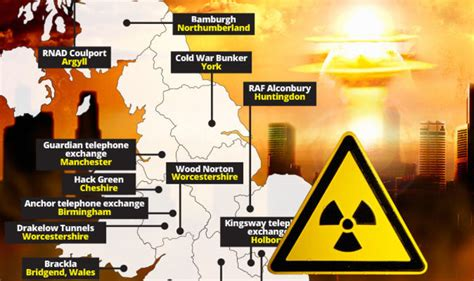 world war  uks nuclear bunkers mapped   case