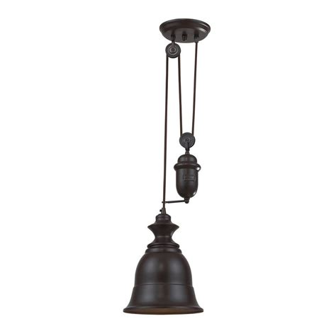 titan lighting farmhouse 1 light oiled bronze ceiling