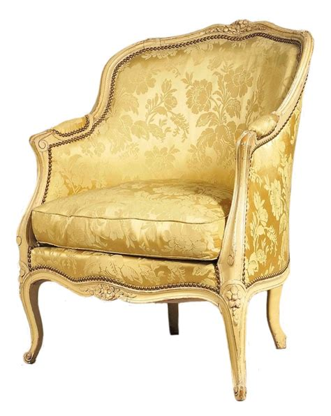 Louis Xvi Armchair A Painted Louis Xv Bergere From Miguel Meirelles French