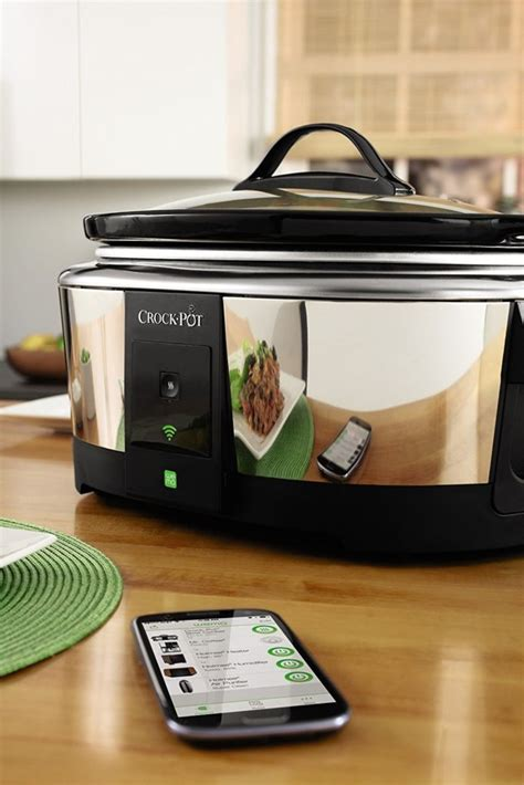 amazon com crock pot smart wifi enabled wemo 6 quart slow 2017 christmas gift guide for the kitchen gadget mommy