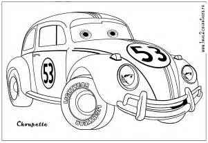 herbie coloring pages